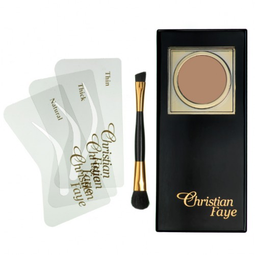 CHRISTIAN FAYE EYEBROW MAKE UP SINGLE DARK BROWN - CF-62