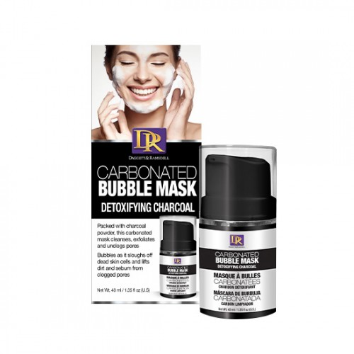 D&R Carbonated Bubble Mask Charcoal 40ml - 1244201